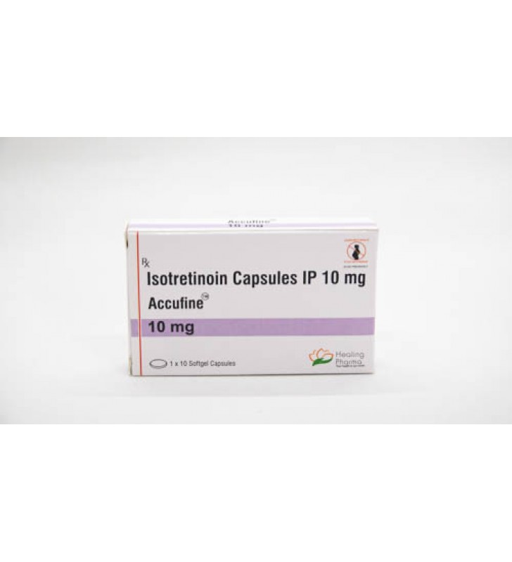 Isotretinoin (Accufine 10) 10 mg Capsules