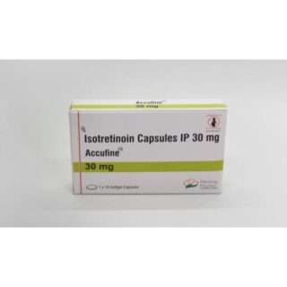 Isotretinoin (Accufine 30) 30 mg Capsules