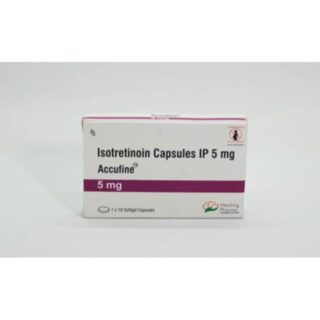 Isotretinoin (Accufine 5) 5 mg Capsules