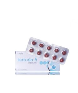 Isotretinoin (Isotroin) 5 mg Capsule